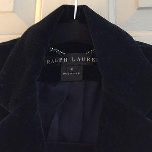 Ralph Lauren velvet blazer jacket